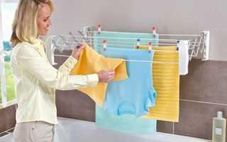 Почему нельзя сушить бельё в квартире