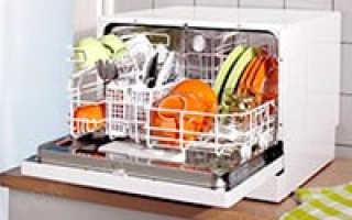 Маленькая настольная посудомоечная машина