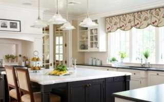 Как сшить ламбрекен на кухню своими руками + выкройки и фото