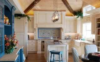 Интерьер кухни в средиземноморском стиле: примеры оформления дизайна, выбор цвета и материала