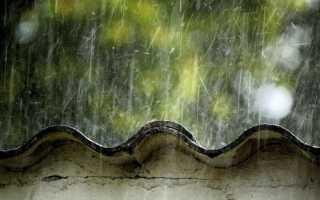 Течет крыша, как быстро определить место протекания и устранить его