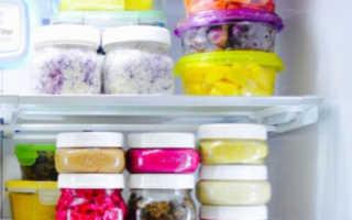 Сколько можно хранить салат в холодильнике с майонезом