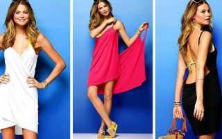 Платье за 15 минут своими руками — как сшить самостоятельно по выкройке и без